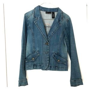 DNKY fitted jean jacket